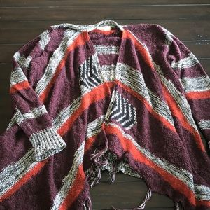 Sun and shadow cardigan